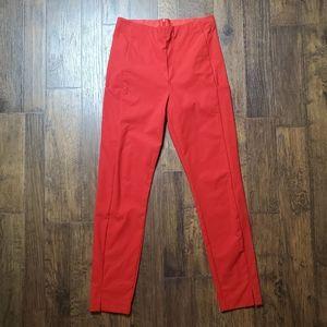 Athleta Wander Slim Ankle Pant Radiant Red